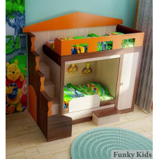 Детская Кровать Фанки Хоум-3