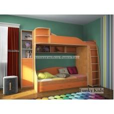 Детская двухъярусная кровать Фанки Кидз 12