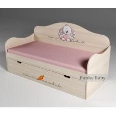 Детская кровать Зайка