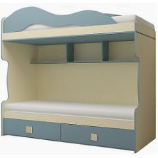 Детская модульная Радуга Кровать 2 этаж+тахта