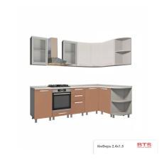"Кухня ""Имбирь"" 2.4х1,5"