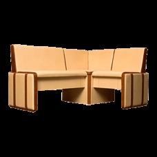 Кухонный прямой диван Стронг М